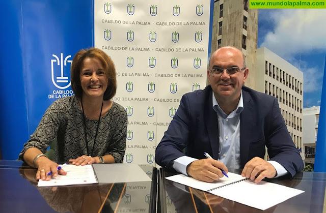 El Cabildo apoya con 48.000 euros la atención a la discapacidad que ofrece la asociación Niños Especiales de La Palma