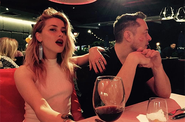 Amber heard and Elon Musk has ceased to hide their relationship