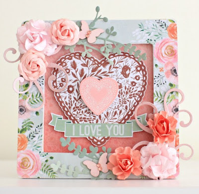 Kaisercraft True Love Collection Frame by Alicia McNamara