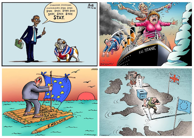 Brexit, EU referendum, Britain leaves EU,European Union, British politics, European Parliament, stronger in europe, strongertogether, leave, remain campaign, Boris Johnson, David cameron reigns, Prime Minister, Presidential election, European Union, political art, political cartoon, Brexit cartoon