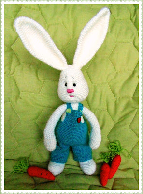 #amigurumi#crochet#bunny#boy#soft toy