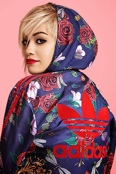 Rita Ora in the campaign Adidas Original 2