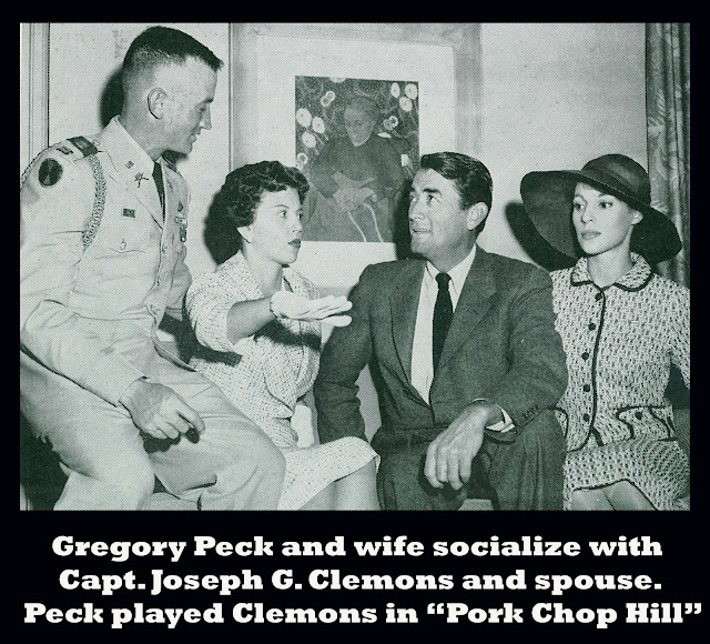 Pork Chop Hill 1959 movieloversreviews.filminspector.com Capt. Joseph G. Clemons