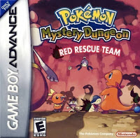 Pokemon Mystery Dungeon Red Rescue Team PT/BR