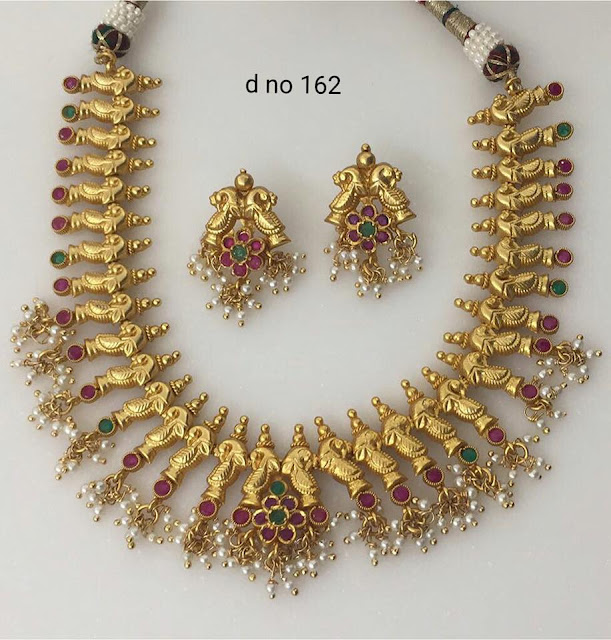 Brass Metal Gold Polish Necklaces