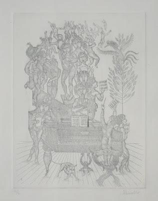 Acquaforte di Cinello Losi - arte - annunci