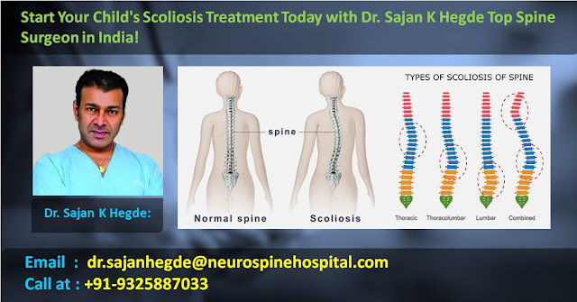 Dr Sajan K hedge | Scoliosis Specialist | Types of Scoliosis