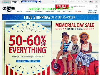 OshKosh B'gosh coupons april