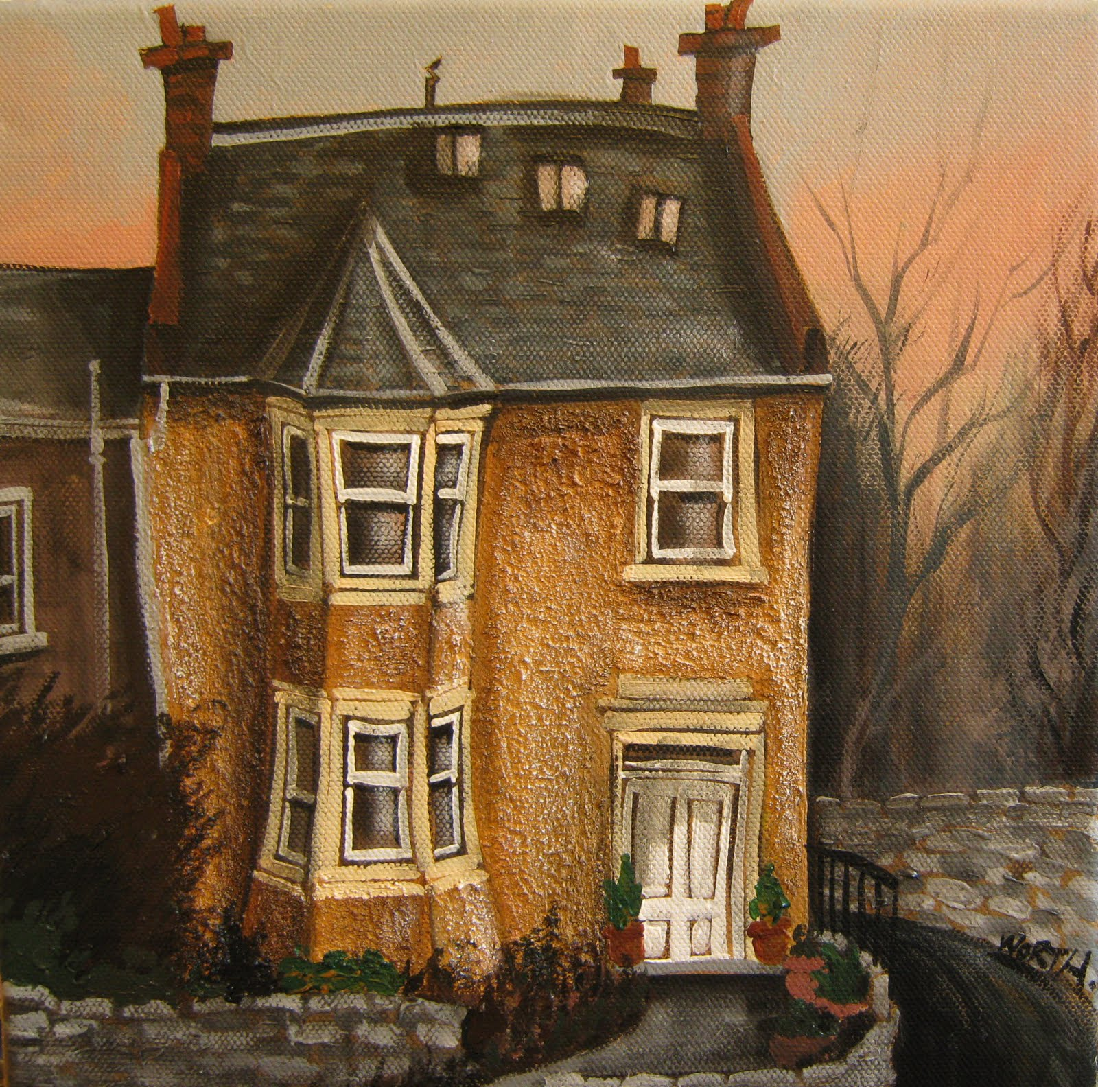 Paintings Of Houses