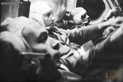 O último diálogo entre os cosmonautas