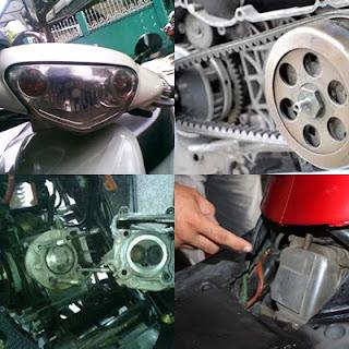 Motor Matic Ditarik Dealer, Incaran Oplos Sparepart