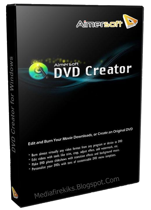 Cracktz aimersoft dvd creator 2 6 full with crack for Dvd menu templates after effects
