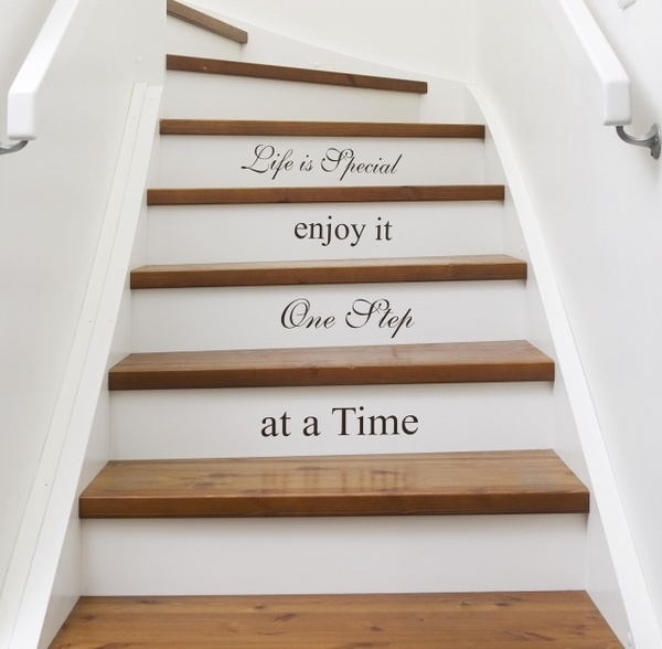 Stair Steps Ideas: Dishfunctional Designs: Intimate Stairs: Painted