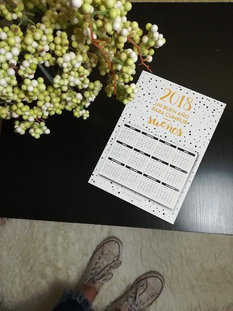 calendario imprimible 2018