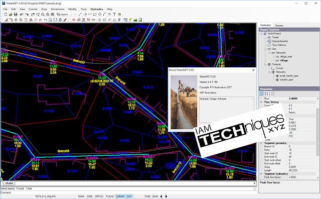 Download Diolkos3D WaterNET CAD.v2.0