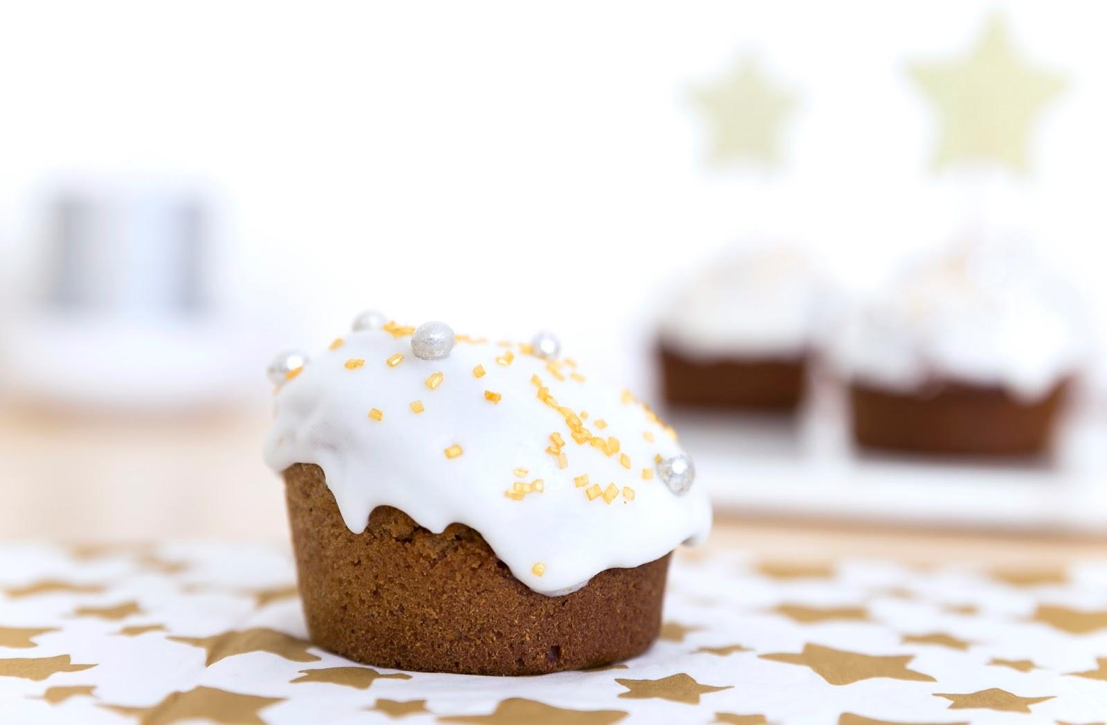 Muffins façon pain d'épice