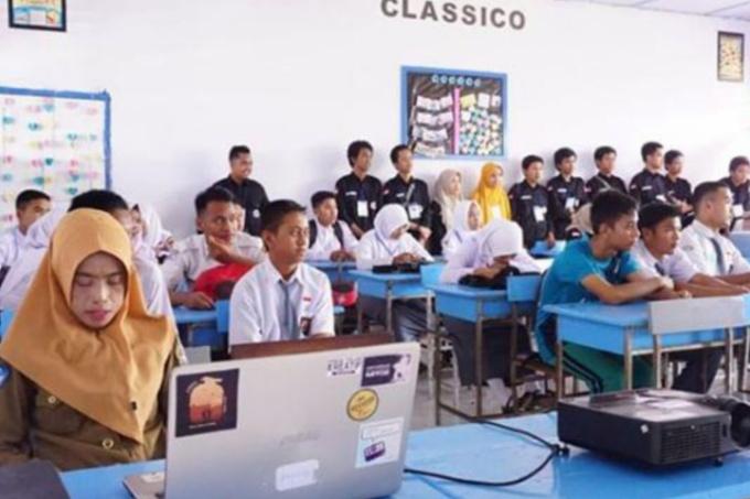 MIB Ade' Pitue Makassar Gelar Pelatihan IT di Tonra, Peserta