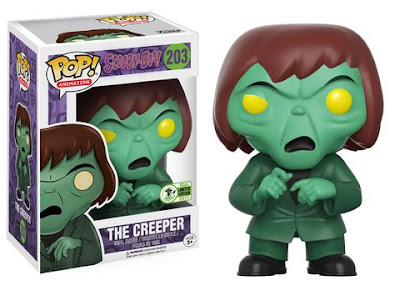 Emerald City Comicon 2017 Exclusive Scooby Doo The Creeper Pop! Animation Vinyl Figure by Funko