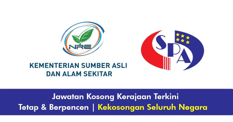 Jawatan Kosong di Kementerian Sumber Asli dan Alam Sekitar Malaysia