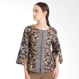 Blus Batik Modern Untuk Wanita Muda