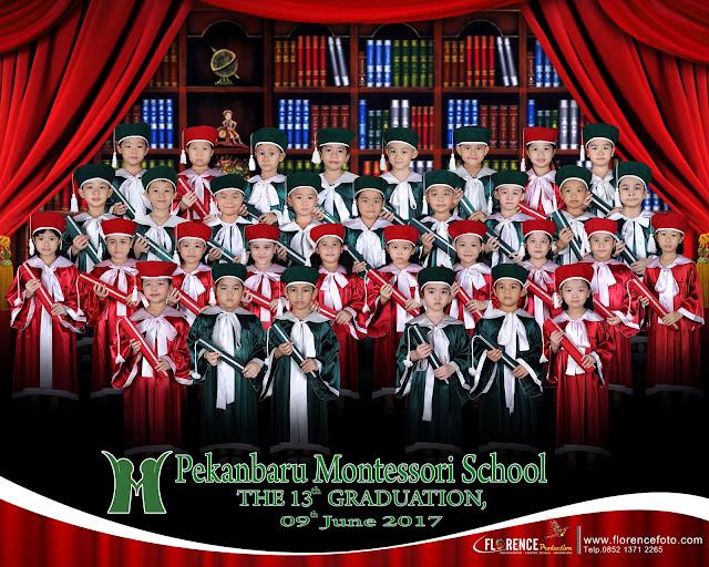 Graduation Fotografi Sekolah TK/PAUD di Pekanbaru