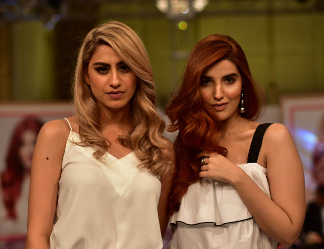 IT Girl Rehmat Ajmal and L'Oreal Professionnel Local Spokesperson Hareem Farooq