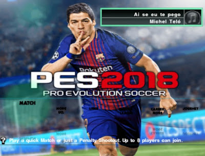 PES 2018 PS2 Super HD Patch Season 2017/2018