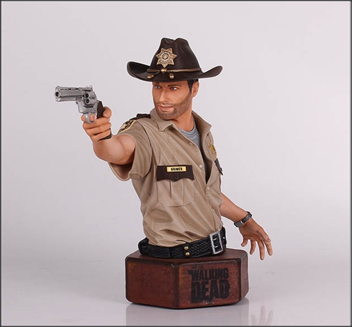 Busto Rick Grimes The Walking Dead