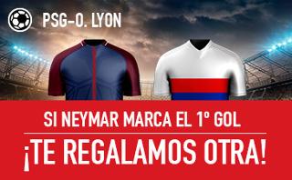 sportium Devolución 25 euros PSG vs Lyon 17 septiembre