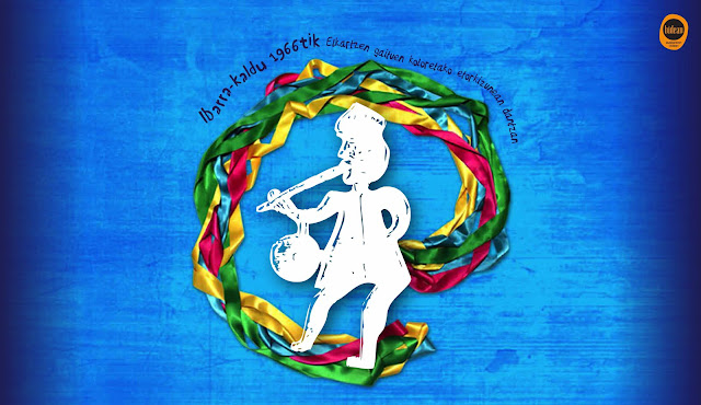 Cartel del festival de folclore del Ibarra-Kadu