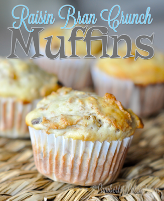 Raisin Bran Crunch Muffins || Easy Breakfast Brunch Idea || Baked