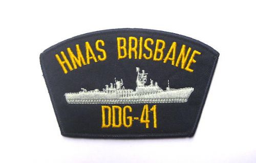 Image Attribute: HMAS Brisbane (DDG-41) Cloth Patch
