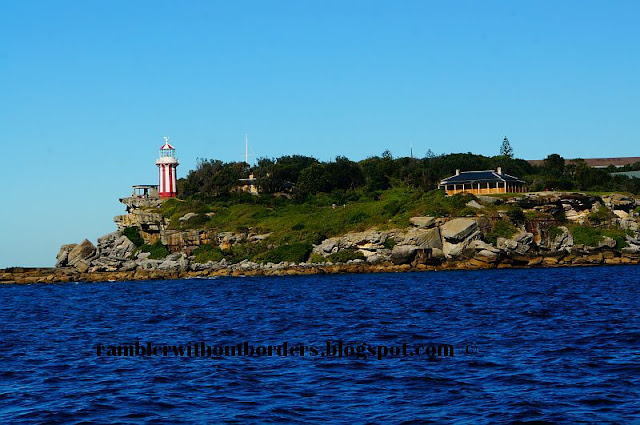Hornby Lighthouse on South Head forms onr of the arms of the Sydney Harbour