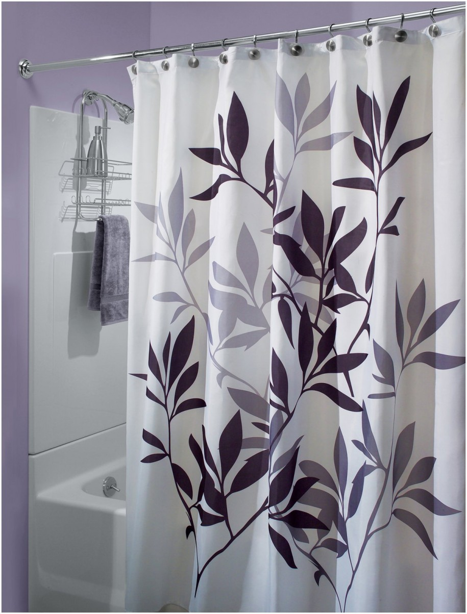 designer shower curtain with valance - Designer Shower Curtain Ideas