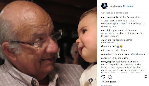 Falleció Alejandro Chataing, padre de Luis Chataing
