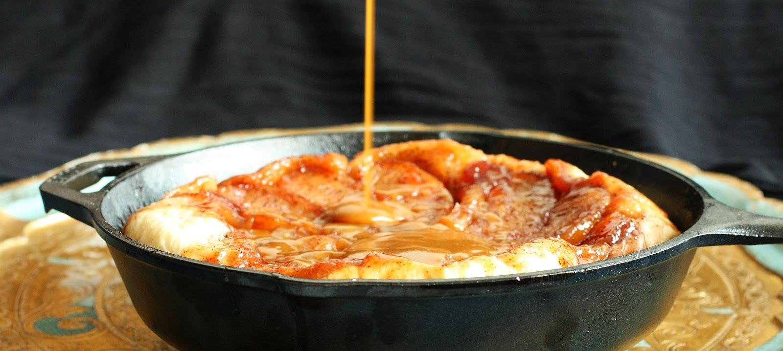 tarte tatin omenatorttu ranskalainen suolakaramellikastike