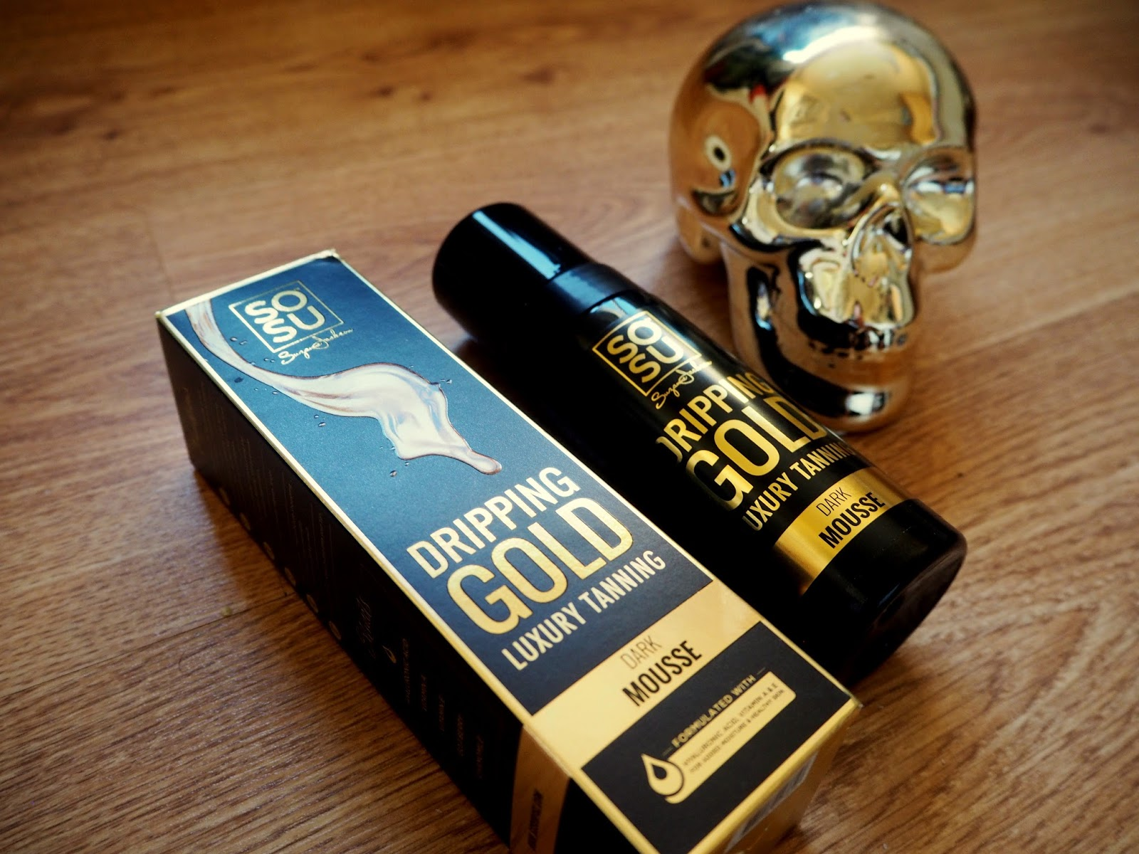 955cc535855 SoSu Dripping Gold Luxury Tan // Beauty Review | OhhheyitsAimee