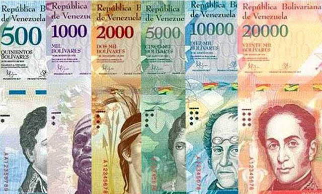Venezuela releases new banknotes, from 500 to 20,000 bolivars, amid heavy inflation