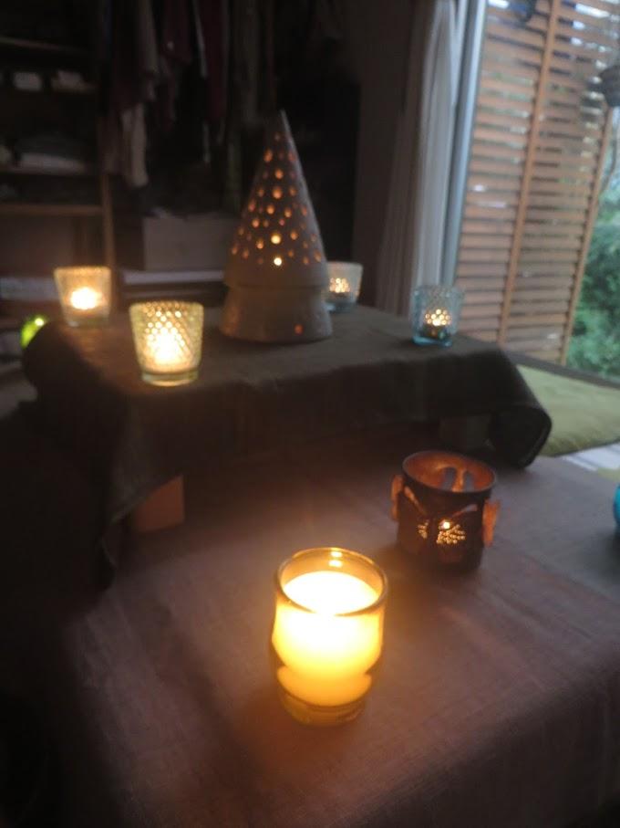 6月のキャンドル瞑想