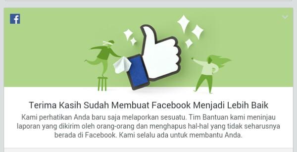 Cara Melaporkan Sesuatu di Facebook