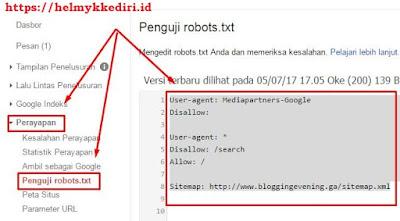robot sitemap