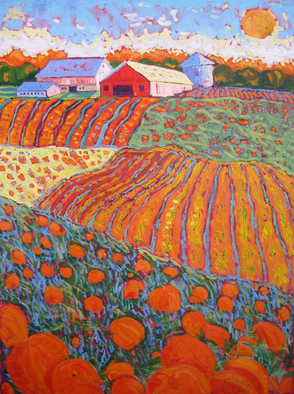 Susan Hale Landscape Paintings