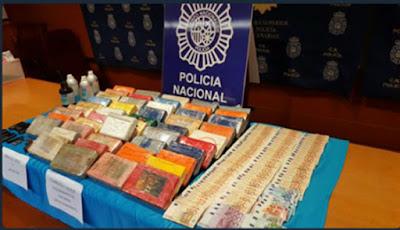 11 detenidos operación tráfico droga en Canarias
