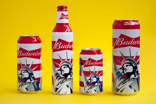 Ilustraciónaplicada al branding de Budweiser de Malika Favre