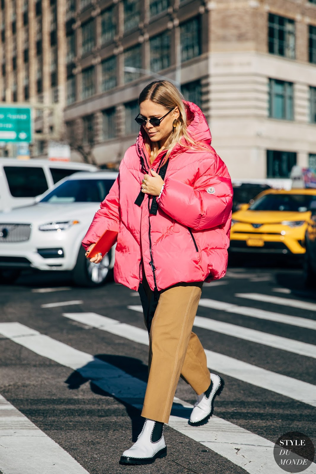 Shop the Colorful Coats Spotted All Over Fashion Week