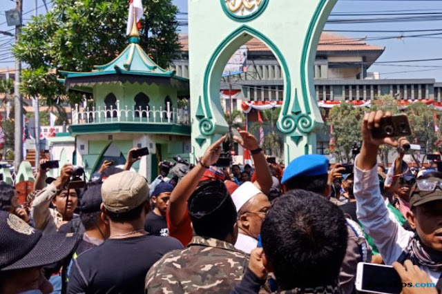Ansor Investigasi Dalang Kehadiran Banser di Aksi #2019GantiPresiden