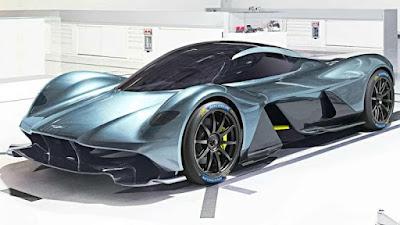 Les voitures les plus rapides du monde - Aston Martin Valkyrie (250 Mph)