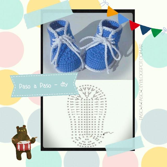 Cómo tejer botas de bebé