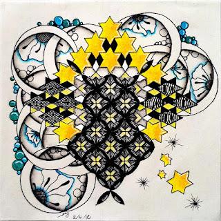 Inspired by...Mistura with additional Patterns: Crux, Henna Drum, Tipple