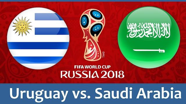 مشاهدة مباراة السعودية واوروجواي